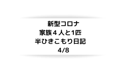 【コロナ日記」 4/8 緊急事態宣言からの仕事